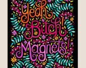 8x10-in Jesse Pinkman Quote Illustration Print.