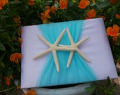 Beach Wedding Guest Book, Starfish Wedding