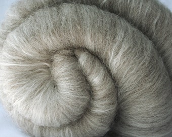 Batt Jacob Wool Superfine Merino Mulberry Silk 49 g 1.7 oz OOAK Ready to Ship International - Simplicity