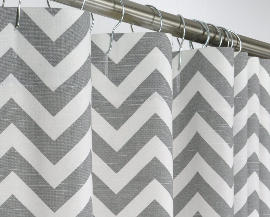84 Long Shower Curtain - Interior Design
