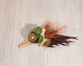 One of Kind READY TO SHIP Hops Boutonniere Big Island Brew Haus