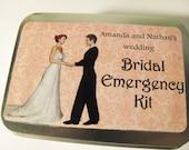Weddings  --  Bridal Gift  --- Bridemaids Gifts  ---Bridal Emergency kit-custom made