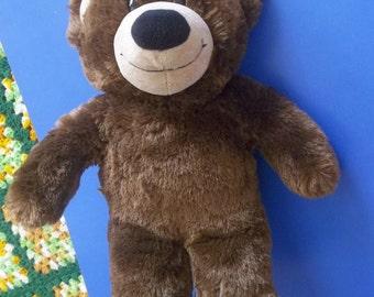 Plush Build a Bear Brown Teddy Bear