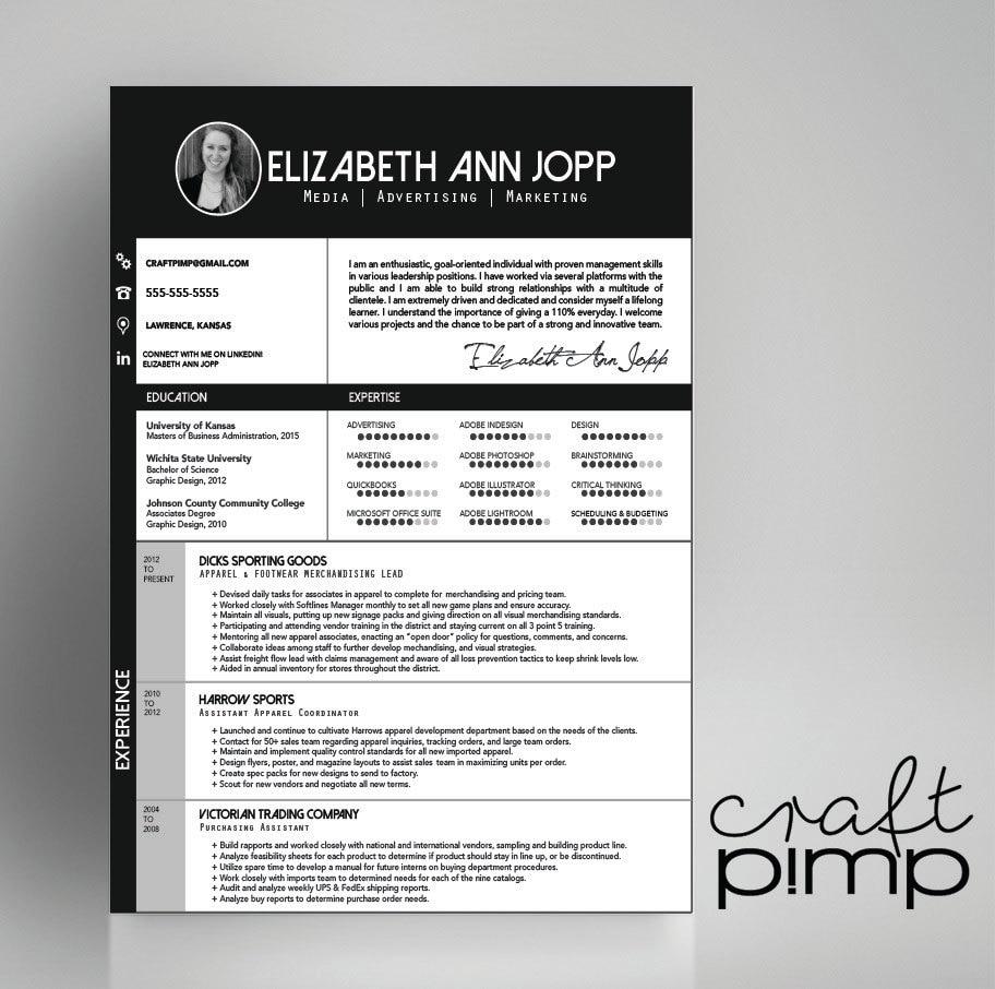 pimp resume