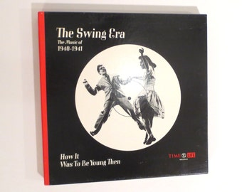 Vintage Time Life, The Swing Era, The Music of 1940-1941, How it Was to Be Young Then, 3LP BOX set & Book, Vinyl, Records,
