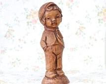 Dickensian Boy Small Statue