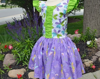 Tinkerbell Dress, Girls Childs