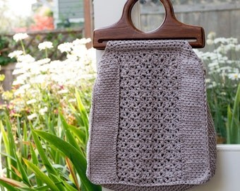 Crochet Pattern for the Moss Street Market Bag
