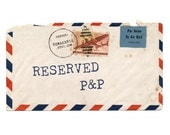 RESERVED for Meredith, additional P&P