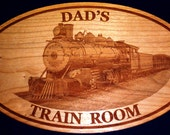 PERSONALIZED WOODEN SIGN -  Wooden Engraved Plaque / Spell Exactly As You Want It