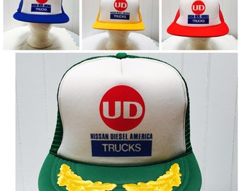 Vintage 1980s Nissan Trucking Trucker Hat- 3 Colors!