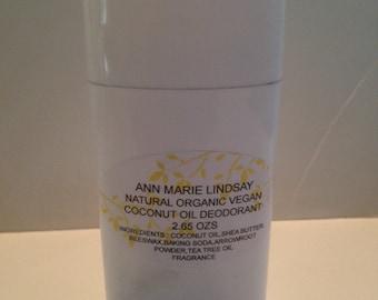 Natural Organic CoConut Oil Deodorant,Sensitive Skin Deodorant