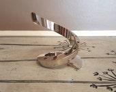 Dansk Candle Holder Dansk Designs Modern Spiral Candle Holder Modern Design Danish Modern Design Polished Silver Spiral Design