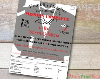 Custom Printable Full Page School Church Flyer Banner - Holiday Event - School Dance - School Play - Sports - After School