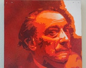 Salvador Dali Multilayer Graffiti Stencil Art Painting