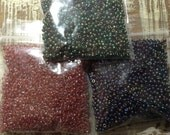 Garden Colored Seed Bead Collection #44