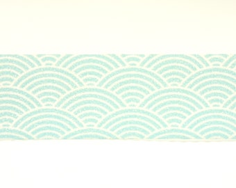 Japanese Washi Masking Tape - Japanese Traditional Wave Pattern - 11 yards
