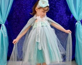 Princess Elsa Inspired Tutu Dress, This Dress and Cape are Beautiful