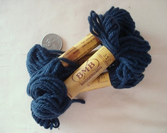 BMB Norwegian Tapestry Wool Very Dark Blue Color 310.