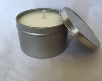 Butt Naked ~ 8oz Travel Tin Candle