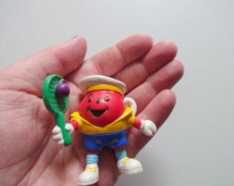 Vintage Kool-Aid Man Miniature PVC Toy 1980s