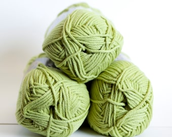 Lion Brand Cotton Ease in Lime