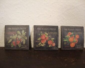dollhouse miniature image publicity vegetable vintage