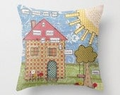 Family, home, love... Decorative pillow available in three sizes