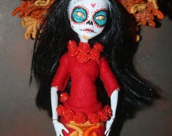 OOAK La Muerte doll