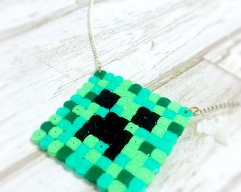 Creepers Gonna Creep Minecraft necklace