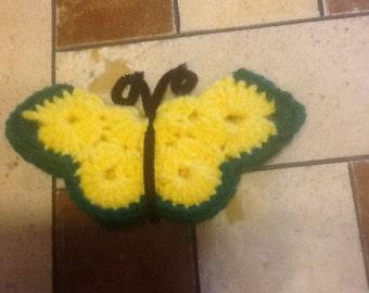 Crochet Monarch butterfly
