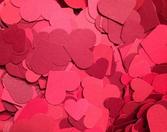 Shades of Red Confetti