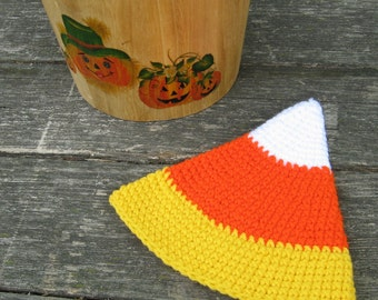 Candy Corn Infant/Toddler Hat Crochet Pattern