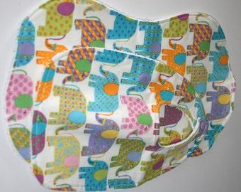 Baby Bib & Burp Cloth Set - Elephants