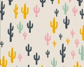 Cacti Field Fun from Art Gallery's Morning Walk Collection - Choose Your Cut