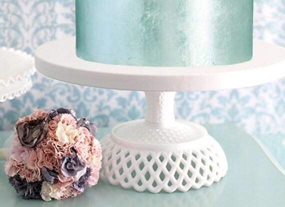 Wedding Cake Stand 16 inch Victorian Inspired Pedestal