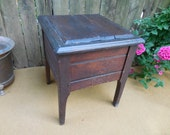 Antique Primitive Shoe Shine Box
