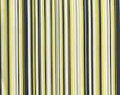Fat Quarter Fabric for quilt or craft Michael Miller Play Stripe in Citron