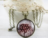 Brown Necklace - Jewelry - Tree Necklace - Unique Jewelry - Tree Jewelry - Art Jewelry - Fashion Jewelry (4-6N)