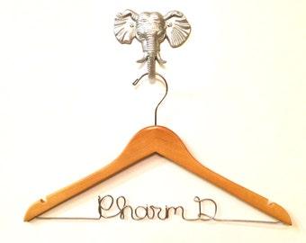Pharmacist Gift, Pharm D Doctor Hanger, Medical School Graduation Gift, Future Dr Personalized Hanger