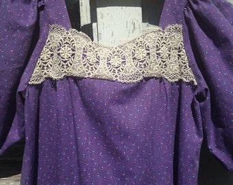 Vintage Prairie Dress