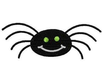 Spider Machine Embroidery Design - Instant Download