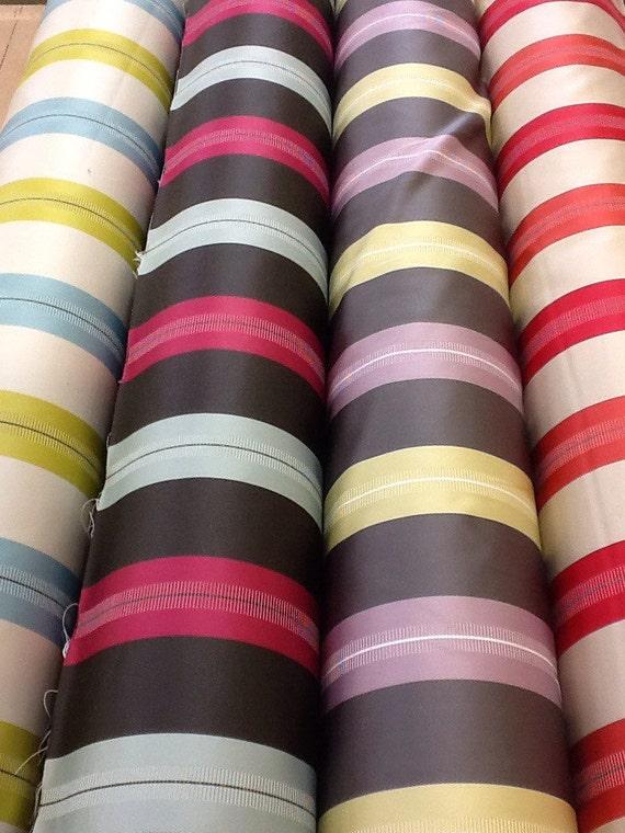 Ashley wilde haddon stripe curtain fabric by the metre in for Childrens curtain fabric by the metre