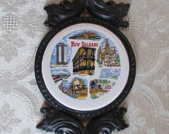 Vintage New Orleans Trivet