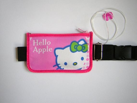 Insulin Pump Pouch Kitty Case Diabetes Pack Zipper Belt Pump