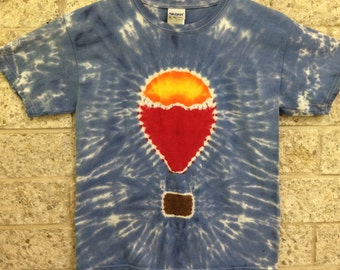 Tie Dye Hot Air Balloon, Child Large