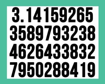 11x14 Classroom Poster Digital Download | 3.14 Pi