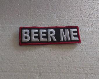 Beer Me Patch