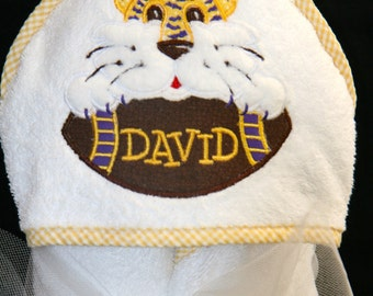 LSU Baby Towel