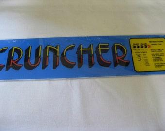Vintage Cruncher Arcade Game